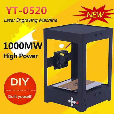 Mini 1000mw Diy Laser Usb Printer Engrave Cnc Engraving Carving Cutting Machine