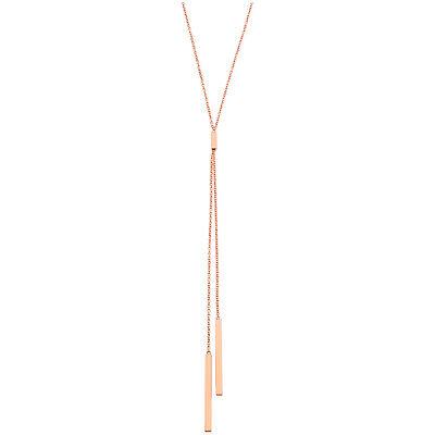 Gorjana Mave Lariat Rose Gold Necklace 147103R