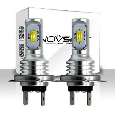 NOVSIGHT H7 160W LED Nebel Scheinwerfer Lampen Leucht Birnen Fog Ligcht DRL