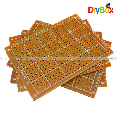 10pcs 5x7 Cm Diy Prototype Pcb Circuit Fr4 Universal Board Prototyping Pcb Kit
