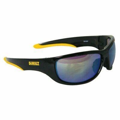 Dewalt Dominator Safety Glasses Blackyellow Frame Mirror Lens Dpg94-yd