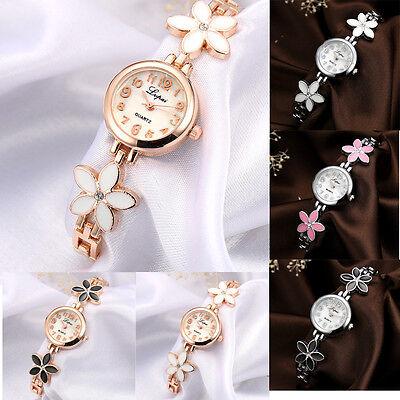 Luxury  Ladies Women Rhinestone Party Dressy Stainless Steel Quartz Wrist Watch