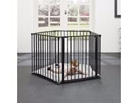 Babydan Playpen - As New - Unused - with mat and wall mount