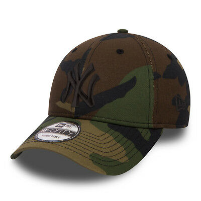 NEW ERA MENS BASEBALL CAP.9FORTY MLB NEW YORK YANKEES ARMY CAMO ADJUSTABLE HAT 8