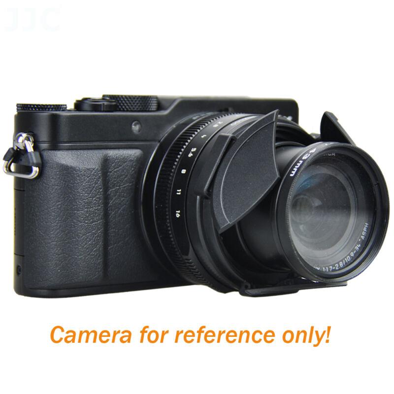 JJC Auto Lens Cap fo Leica D-LUX (Typ 109) Digital Camera replaces DMW-LFAC1