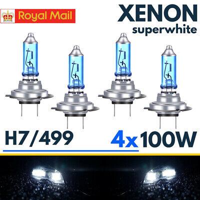 H4 55W Xenon White HID LED Headlight Bulbs Peugeot 1007 104 106 107 205 206 304