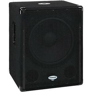 SUBWOOFER self-powered 18 inch subwoofer FAT SOUND Samson dB1800a Coburg Moreland Area Preview