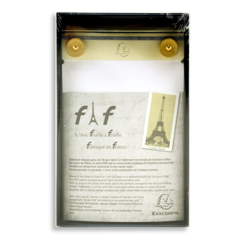 Exacompta Faf Desk Pad No.2 - 4X6.25 Inch