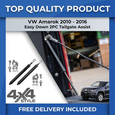GREY STITCHING ARMREST LID LEATHER COVER  FITS VW AMAROK 2010-2016