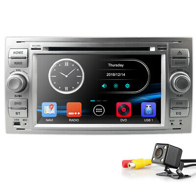 Autoradio DVD GPS SWC Navigation für Ford Focus Transit C/S-Max Galaxy Dab+ Kam