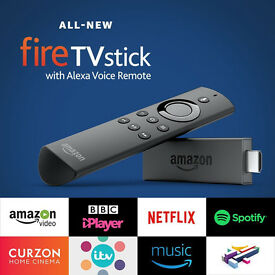 BRAND NEW - Amazon FireTV Stick Alexa Voice + Kodi FULLY LOADED - MOVIES SPORTS TV SHOWS BOX OFFICE