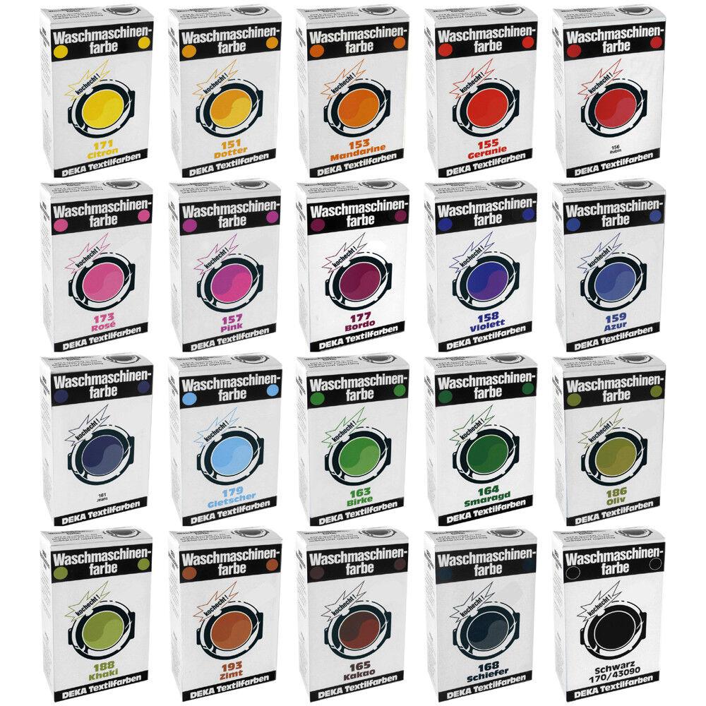 DEKA Waschmaschinenfarbe - 20 Farben zur Auswahl -