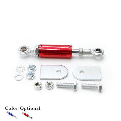 (Universal Engine Damper Kit for 172-196mm Torque Damper Brace Shock Mount Red)