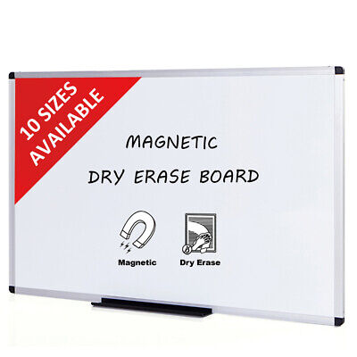 Magnetic Dry Erase Boards (VIZ-PRO Dry Erase Board magnetic Aluminium Frame School and Office)