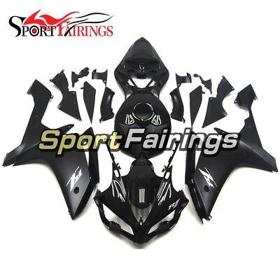 Full Fairings For Yamaha YZF1000 R1 2007 2008 Black Injection ABS Body Kit