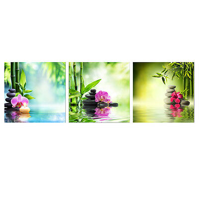 Canvas Print Painting Picture Home Decor Wall Art Landscape Bamboo Zen Flowers