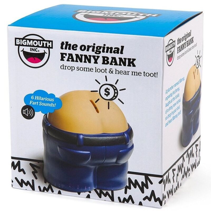 Fanny Bank Funny Farting Sound Coin Butt Drop Money Bank Safe Children Toy