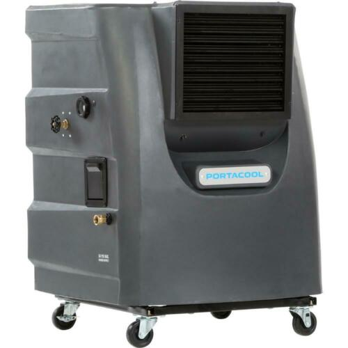 PORTACOOL PACCY130GA1 PORTABLE EVAPORATIVE COOLER, 2 SPEED, 700 SQ FEET, NEW!