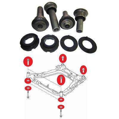 Front Subframe Crossmember engine craddle bush full kit, fits Renault Koleos