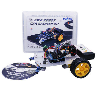2wd Smart Robot Car Starter Kit For Arduino Open Source Diy Kit Educational