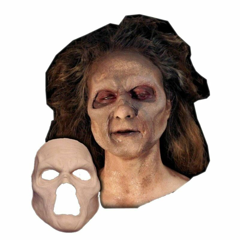 Undead Zombie Face Foam Latex Prosthetic Theater Appliance