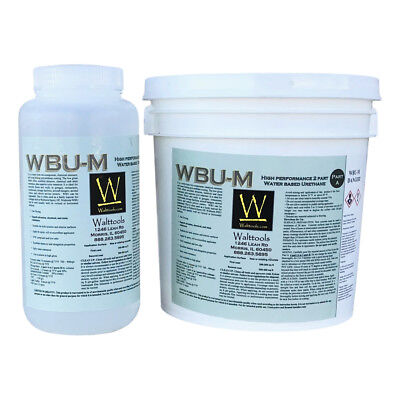 Wbu M Concrete Coating Water-based Urethane Matte -1.25 Gal Kit