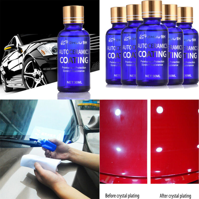 Ceramic Spray Coating Car Polish Spray Sealant Top Coat Quick Nano-coating 250ml Ceramics For Cars Liquid Glass Back To Search Resultshome
