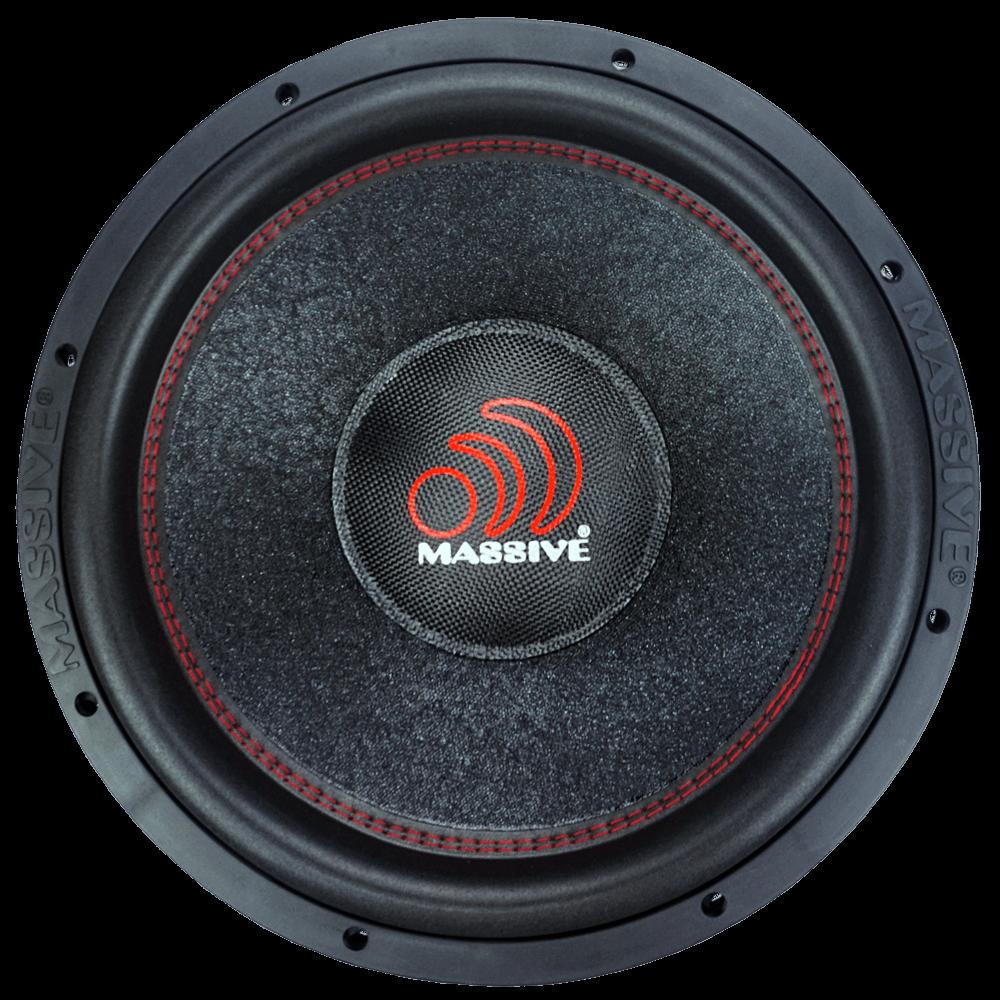 "KICKER 43C124 12/"" 600W Car Audio Subwoofers Subs 4 Ohm Dual Sealed Sub Box 2"