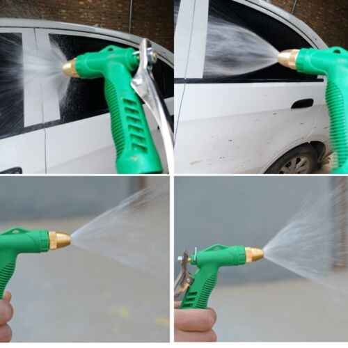 Water Hose Nozzle Trigger Wash Spray Gun For Washing