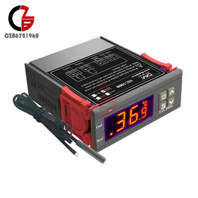 Ac 110v-220v Stc-1000 Digital Temperature Controller Thermostat W Probe Sensor
