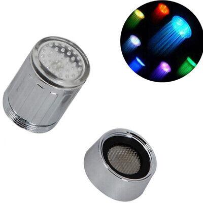 Filtro Grifo Fría Aireador Universal Baño Cocina RGB LED Sensor de Temperatura