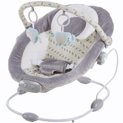 el Wipper mit Musik Vibration 2 Positionen Spielebogen grau (Baby Spiele, Baby)