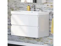 900 ml floating Vanity Sink
