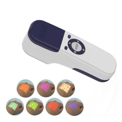 Handheld Infrared Vein Finder Locator Black Skin Transilluminator Vein Viewer
