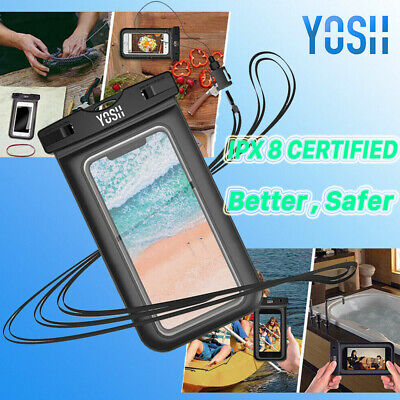 YOSH Underwater Waterproof Phone Case Pouch Dust proof Dry Bag For iPhone 7 8 X