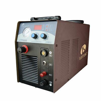 Plasma Cutter Pilot Arc 220 Volt 60amp Lotos Ltp6000 Cuts 34 Stainless Steel
