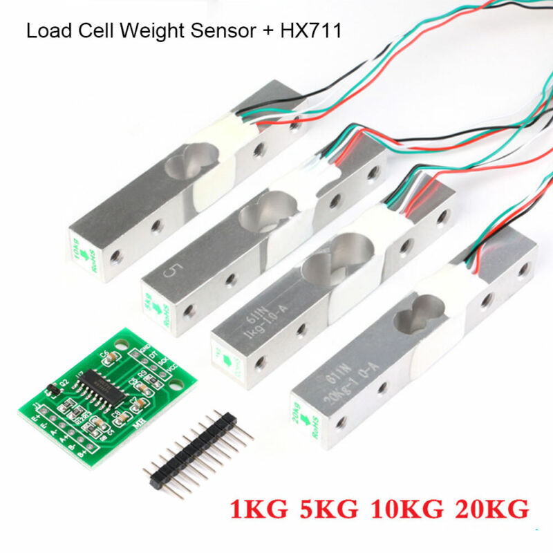 Scale Load Cell Weight Sensor+HX711 Weighing Sensor AD Module 1kg 5kg 10kg 20kg