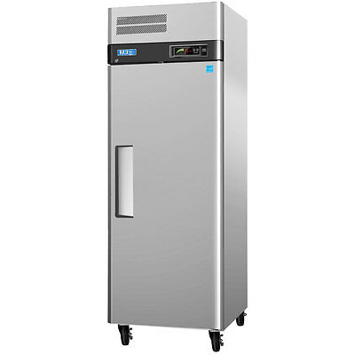 Turbo Air M3f19-1 20cf Stainless Reach-in Freezer With 1 Solid Door