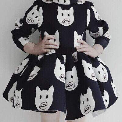 CAROLINE BOSMANS Cat Emoji Skirt NWT $138.00 Size 4