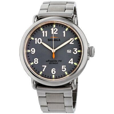Shinola The Runwell Quartz Movement Blue Dial Men's Watch S0120089902
