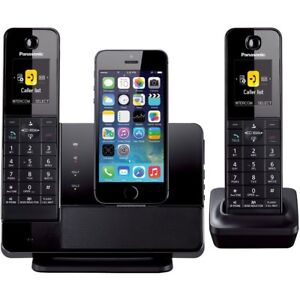 Panasonic cordless phone system with Bluetooth and IPhone compat