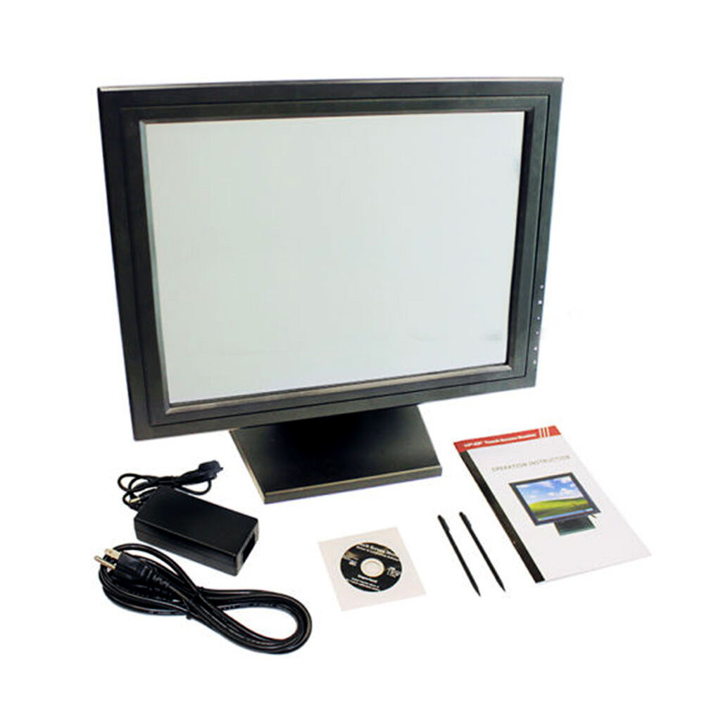15 zoll pos touchscreen monitor lcd stand kassenmonitor. Black Bedroom Furniture Sets. Home Design Ideas