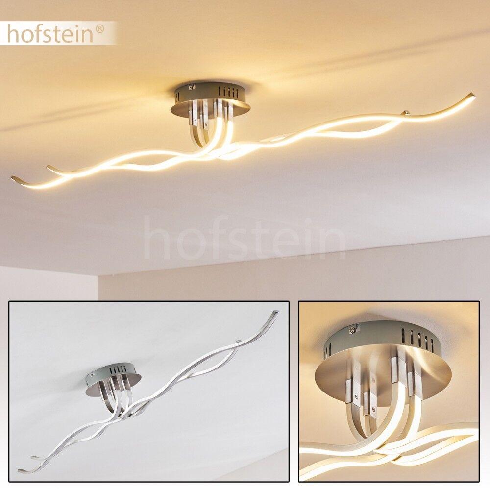 LED Wellen Decken Lampen Design Flur Büro Leuchten Wohn Schlaf Raum Beleuchtung