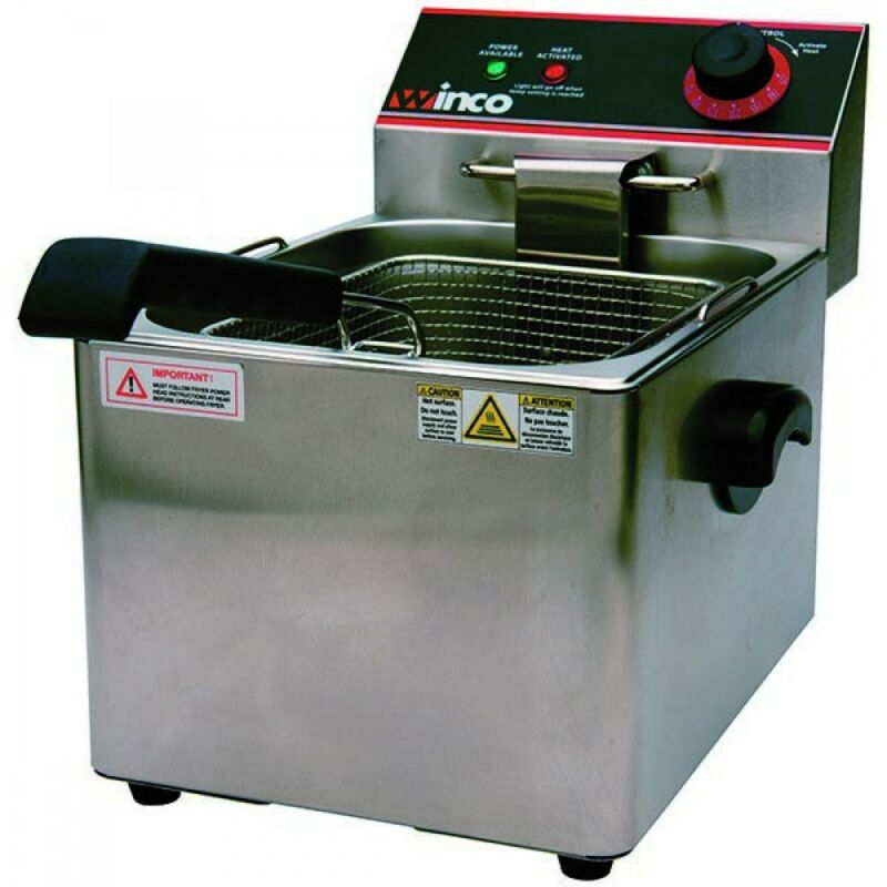 TW - EFS-16, ELECTRIC FRYER, SINGLE WELL, 16LBS CAPACITY, 120V