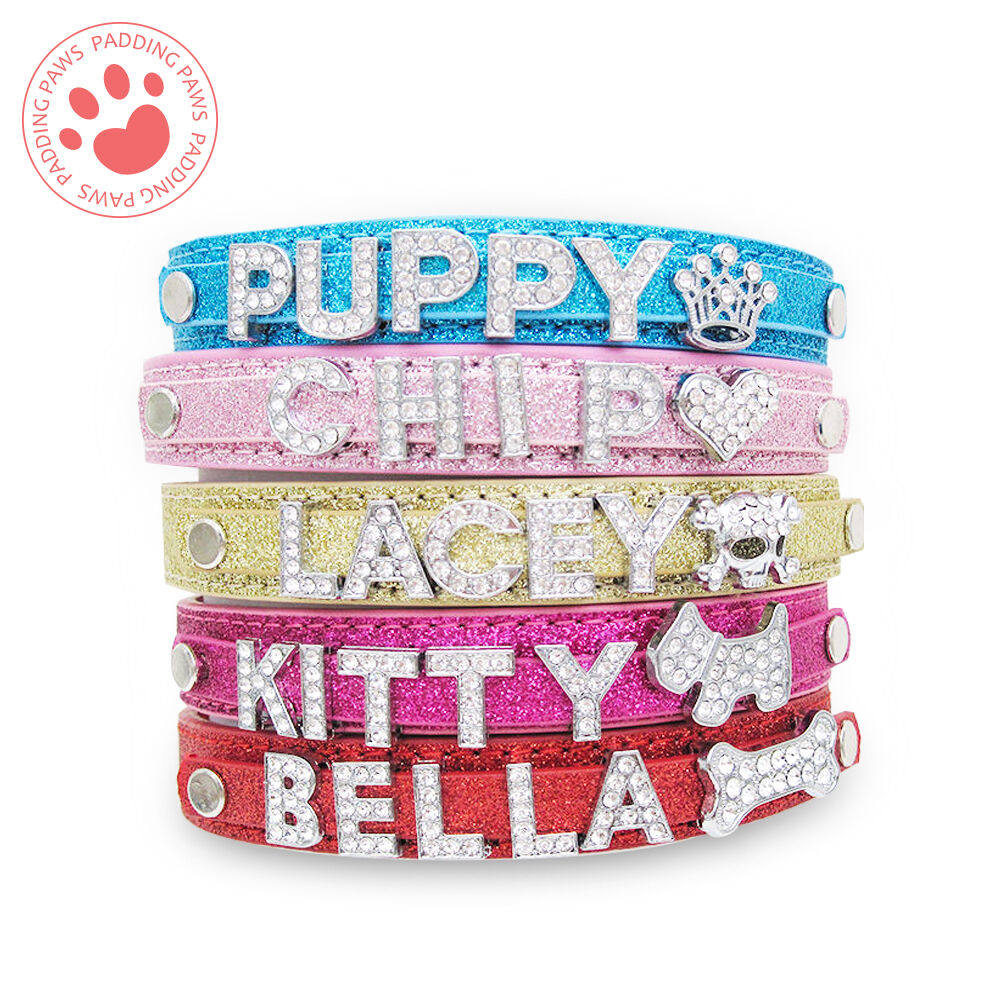 Diamante Letters For Dog Collars