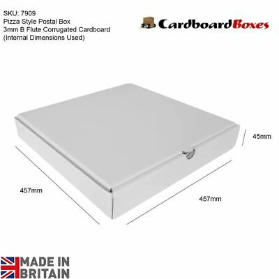 Postage Box Pizza Style Boxes Takeaway Strong High Quality Postal 10 18
