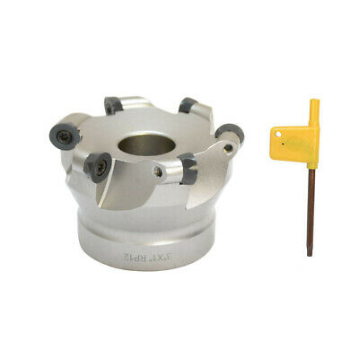 3 X 1 Indexable Round Face Mill Cutter Milling Cutting Use Rpmt1204 Cnc