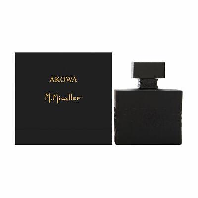 Akowa by M. Micallef for Men 3.3 oz Eau de Parfum Spray Brand New