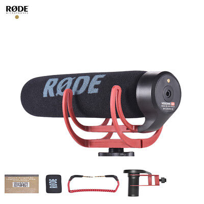 RODE VideoMic Go On-Camera Super Shotgun Microphone with Shock Foam Windshield