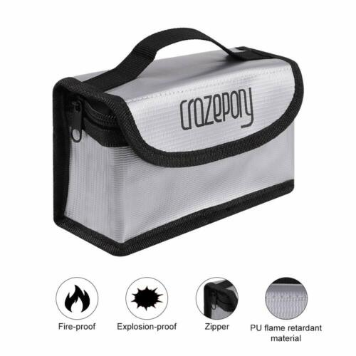 Lipo Battery Safe Guard Fireproof Explosionproof Bag For Cha